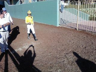 Mike Smith in Santa Anita!